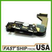 iphone 4 USB dock assembly microphone antenna home flex