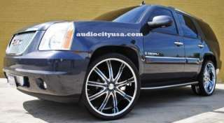 22 Rims and Tires Wheels Chevy Ford Tacho Escalade