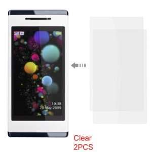Gino 2 Pcs Clear LCD Screen Protector for Sony Ericsson