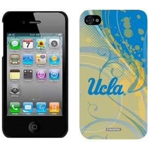 NCAA UCLA Bruins Swirl iPhone 4 Case