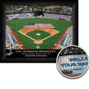 Los Angeles Dodgers Personalized Stadium Print Sports