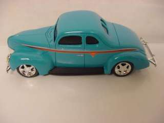 HOT ROD UNDERGROUND 1940 FORD COUPE BLUE CAR 1/43 DIECAST NEW