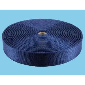 1 1/2 Inch 50 Yards Lite Weight Navy Polypro Webbing
