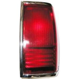 90 97 Lincoln Town Car Tail Light Assembly RIGHT