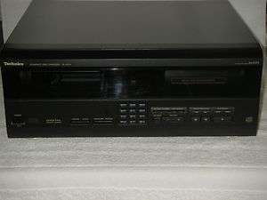 TECHNICS 60 + 1 COMPACT DISC CHANGER,DIGITAL OPTICAL OUTPUT, TESTED