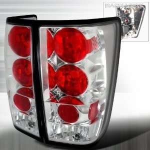 2004 2008 Nissan Titan Altezza Tail Light Chrome