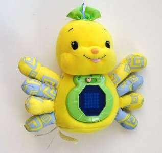 Leap Frog Baby Letters with Lulu Plush Spider Toy