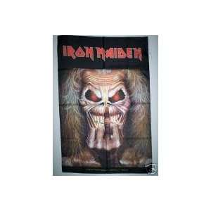 IRON MAIDEN 42x30 Inches Cloth Textile Fabric Poster