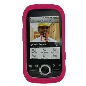 Skque Pink Silicone Skin Case for Motorola i1 Series Electronics
