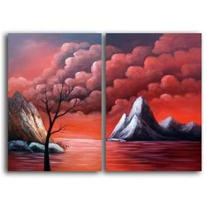 The Red Sea Hand Painted Canvas Art Oil Painting