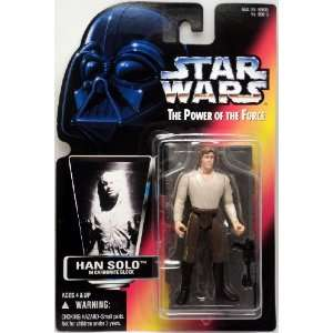 POTF2 Han Solo (Carbonite) RED CARD C8/9 Toys & Games