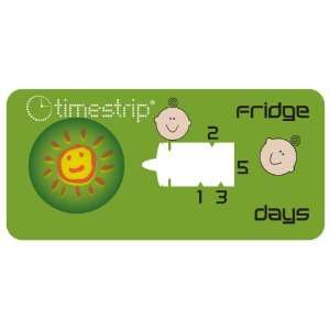 Timestrip 800 092 5 Day Fridge Baby Food Time Indicator, (Pack of 500