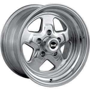Ridler Pro Star 15x4 Polished Wheel / Rim 5x4.75 with a  19mm Offset
