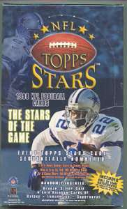 1998 Topps Stars NFL Football Hobby Trading Card Box