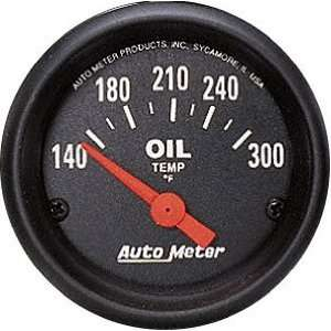 Auto Meter 2639 Z Series 2 1/16 Short Sweep Electric Oil Temperature