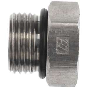 Brennan 6408 06 O SS, Stainless Steel Tube Fitting, Hex Plug , 3/8