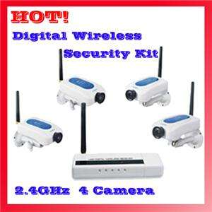 Digital Signal Wireless Camera Kit Home Security System