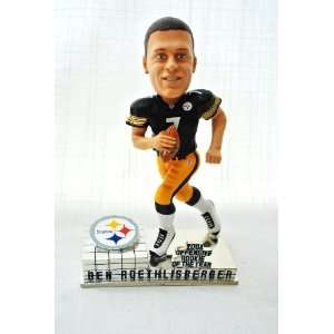 Pittsburgh Steelers Ben Roethlisberger Official NFL #7 ROY