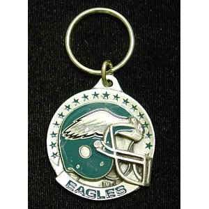 Philadelphia Eagles Team Helmet Key Ring Sports