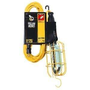 Coleman Cable 02893 25 16/3 Jacket Work Light, Yellow