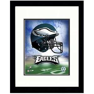 2004 Philadelphia Eagles Helmet Logo Photograph. Sports