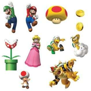 Nintendo Super Mario Bros. Removable Wall Decorations