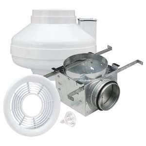 Air King AIK14XL In Line Exhaust Fan with Halogen Light