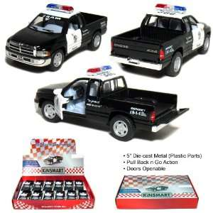 12 pcs in Box 5 Dodge Ram Police Pickup Truck 144 Scale