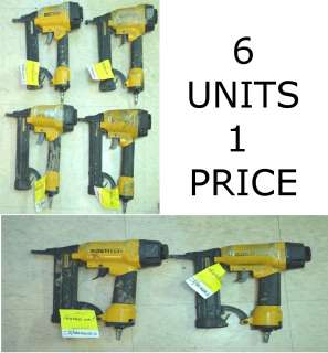 LOT OF 6 X HEAVY DUTY INDUSTRIAL BOSTITCH TOOLS STAPLER