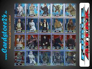 Star Wars Force Attax Serie 3 Movie Card Star Karten einzeln wählbar