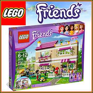 LEGO FRIENDS 3315 Olivia's House sets Anna and Peter 3 minifigures