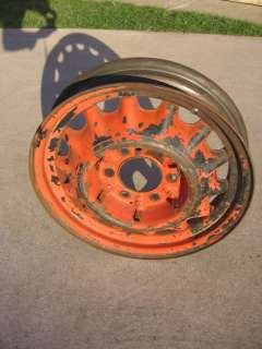 17 Artillery Wheel Chevy Chevrolet Rim Rat Hot Rod 1934 1935 1936 34