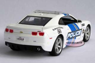 New Chevrolet Camaro Police Car 124 Alloy Diecast Model Car With Box