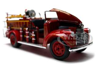 1941 GMC FIRE ENGINE TRUCK RED 132 DIECAST MODEL CAR