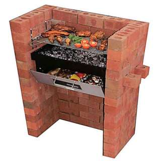 New Garden Build Built In Brick Barbecue BBQ Grill & Pizza Bake Oven