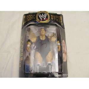AUTO SIGNED WWE CLASSIC COLLECTOR SERIES KING KONG BUNDY ACTION FIGURE