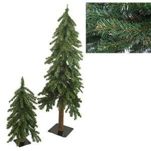 Downswept Woodland Alpine Artificial Christmas Trees
