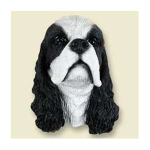 Cocker Spaniel Dog Magnet   Parti Black