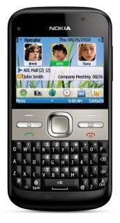 Nokia E5 00 Unlocked GSM Phone with Easy E mail Setup, IM
