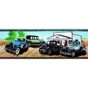 Ford Model A Classic Cars Wallpaper Border