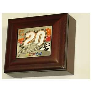 NASCAR Rusty Wallace Wood Collectors Box with Logo Sports