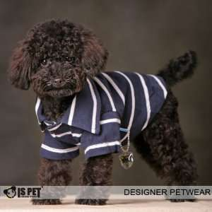 Is Pet Designer Dog Apparel   Miles Polo Shirt   Color