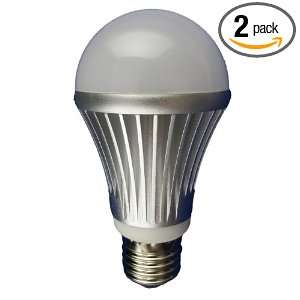 E27 2 Dimmable High Power 10 LED Par A19 Lamp, 10 Watt Cold White, 2