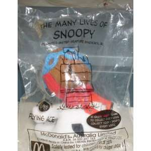 OF SNOOPY   Peanuts SNOOPY FLYING ACE   NIP   Limited Ed Toys & Games