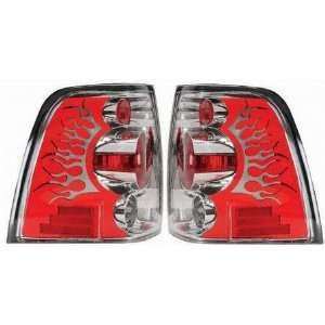 03 06 FORD EXPEDITION ALTEZZA CLEAR TAIL LIGHT SUV, one set (left and