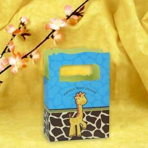 Giraffe Boy   Mini Personalized Baby Shower Favor Boxes Toys & Games