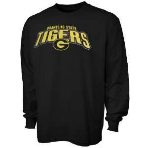 Grambling Tigers Black Big Time Long Sleeve T shirt