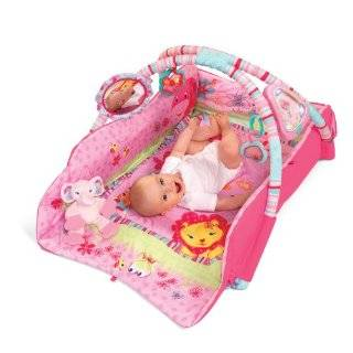 Bright Starts Babys Deluxe Play Place, Pink