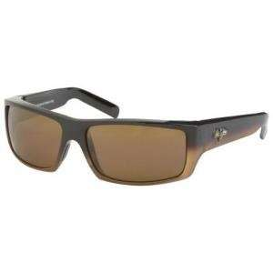 Maui Jim Kaimana Sunglasses Gloss Brown Fade/HCL Bronze