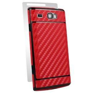 Samsung Focus Flash i677 i 677 Cell Phone Red Carbon Fiber